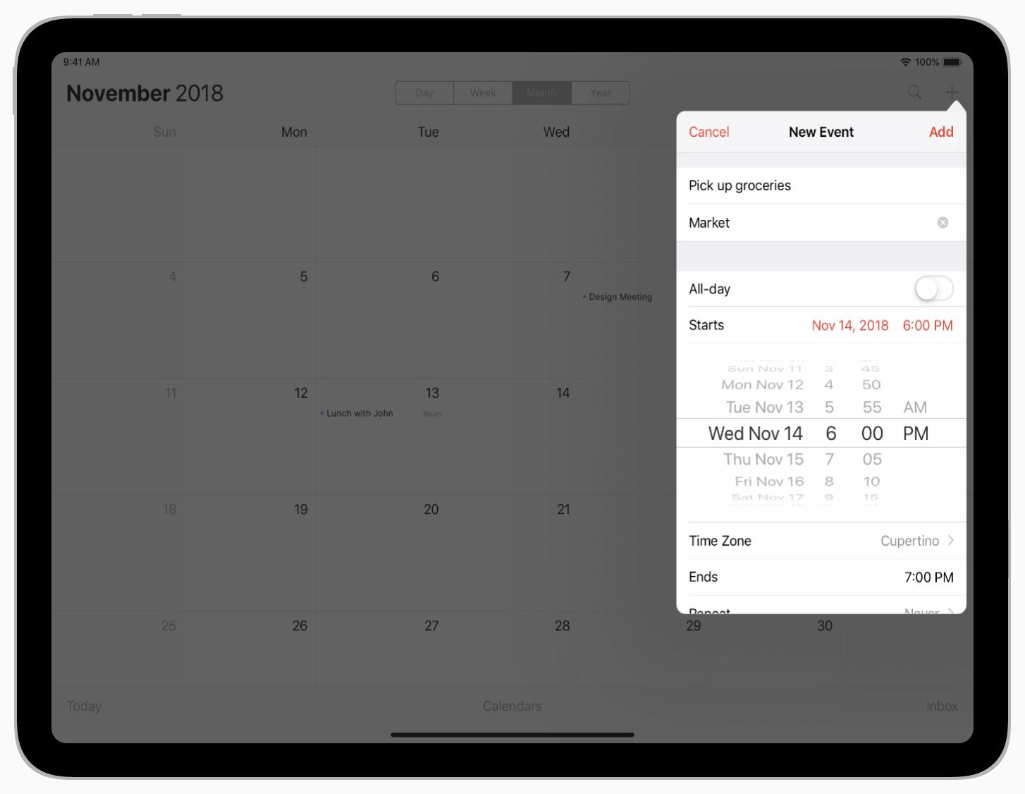Apple人机交互设计指南中的Popover